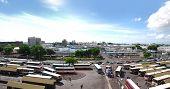 foto of gare  - Panoramic view of La Gare Du Nord in Port Louis - JPG