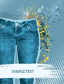Jeans Background.vector
