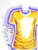 Man's T-shirt.vector