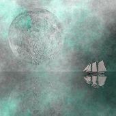 Постер, плакат: Парусный с Луны