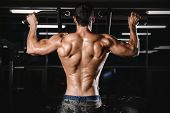 Back Muscle Man's Back. poster