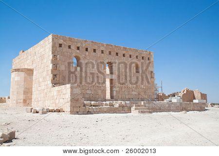 Qasr Al Hallabat Castillo del desierto, Jordania