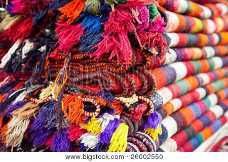 Persian carpets (Iranian carpets and rugs) Shiraz, Iran