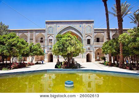 Inside of  Khan School in  Shiraz, Iran