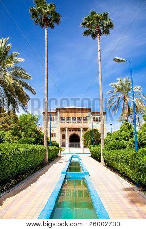 Delgosha Garden (Orange Garden) in Shiraz, Iran