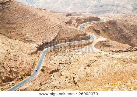 Wadi Mujib panoramic view , Jordan