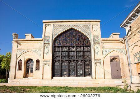 Building around Tomb of Aramgah-e Hafez  in Shiraz, Iran
