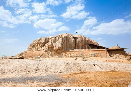 The Sialk mound terraced step pyramid date back to 5500?6000 BC. is World Heritage Site at UNESCO. Kashan; Iran