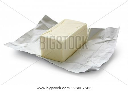 Open Block of Butter