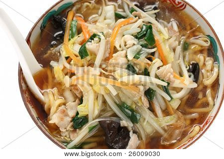 sunmarmen , japanese starchy ramen noodles