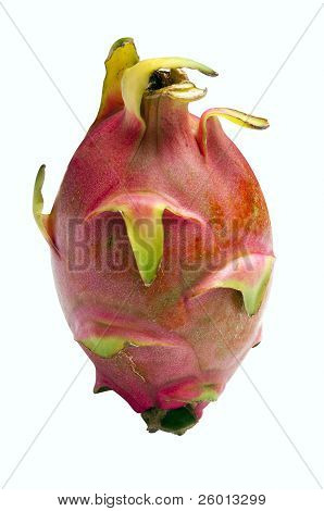 Dragon Fruit - Pitaya Or Pitahaya - With Clipping Path