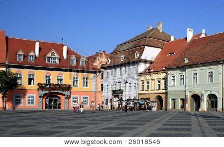 Centro de Sibiu, la capital de la cultura 2007