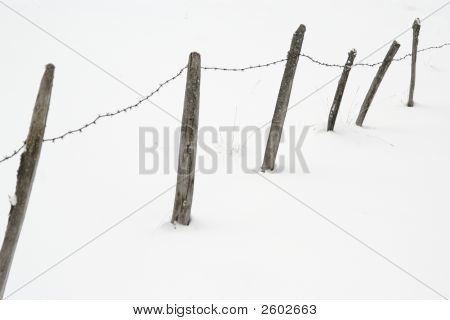 Frozen Railings