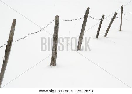 Frozen Railings