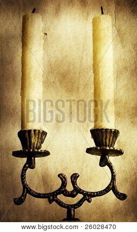 Jahrgang Kerzen