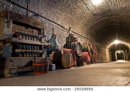 old vine cellar