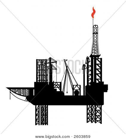 Oli-Drilling_Platform.Eps