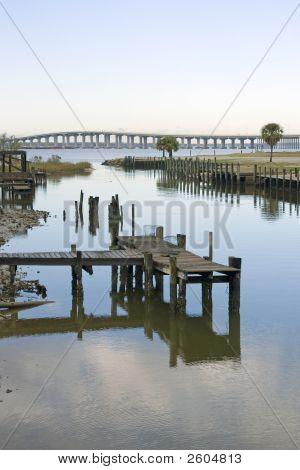 Bay Front Boat Dock