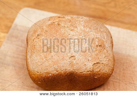 Wheat Bread Baked In Machine