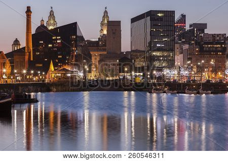 Canning Dock In Liverpool Liverpool