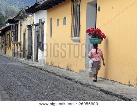 cobble streets antigua guatamala