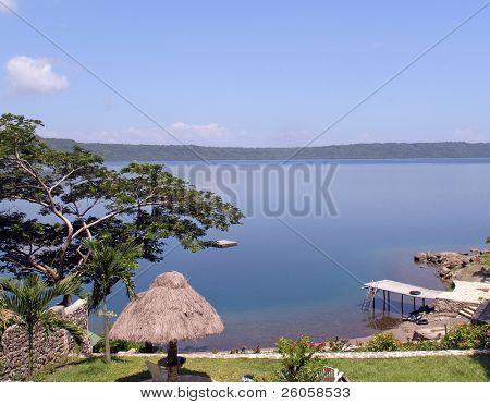 volcanic lake nicaragua