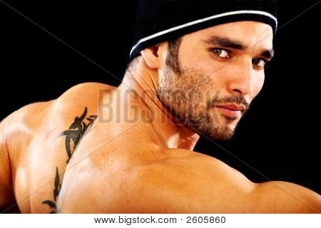 Masculine Man Portrait