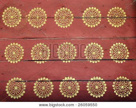 plantillas viejas templo lao Asia