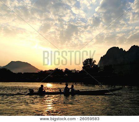 mekong river lao