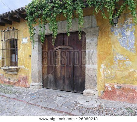 Antigua streets Guatemala