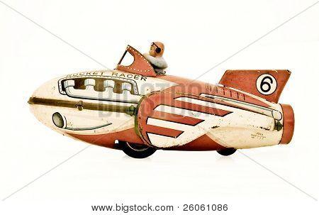 retro rocket racer ( retro color )