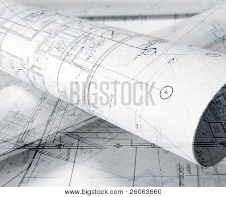 abstract plans background