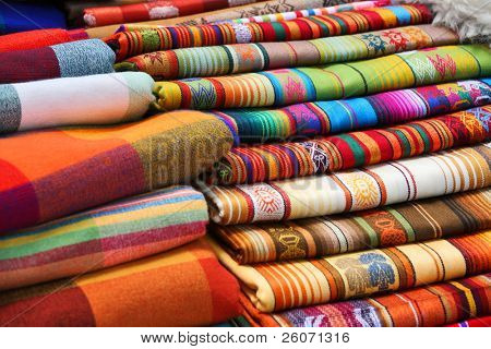Ecuadorian (Peruvian) traditional fabrics