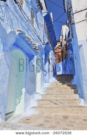 Blue medina of Chechaouen, Morocco