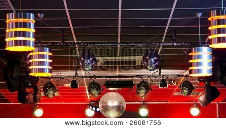 Professional Club Lighting Equipment