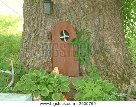 Tree With A Door