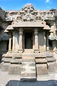pic of ellora  - The  Jain Temple  - JPG