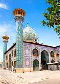 picture of shiraz  - Seyed Alaedin Hossein Shrine - JPG
