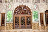 picture of tehran  - Entrance door of Golestan  palace - JPG