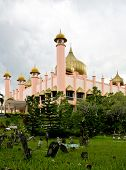 stock photo of mosk  - mosk in kuching bornio - JPG
