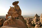 foto of phallus  - Sandstone formations in Cappadocia - JPG