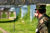 stock photo of army cadets  - Shooting - JPG