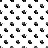 Hand Wash 40 Degrees Celsius Pattern Vector Seamless Repeating For Any Web Design poster