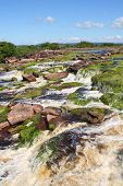 picture of canaima  - Waterfall at Canaima National Park - JPG