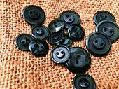 Buttons, Lots Of Buttons. Buttons For Sewing And Craft poster