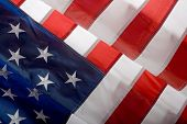 picture of waving american flag  - American flag background - JPG