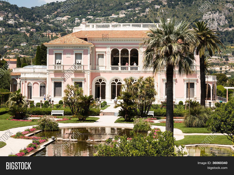 Villa Ephrussi De Rothschild Saint Image Photo Bigstock