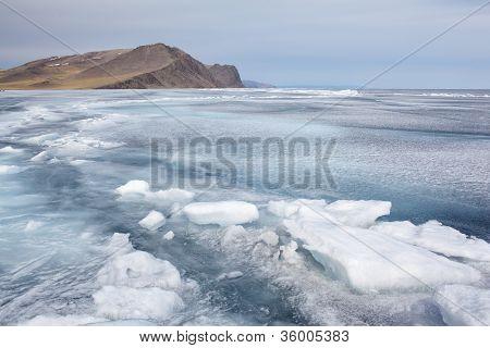 Baikal In Winter