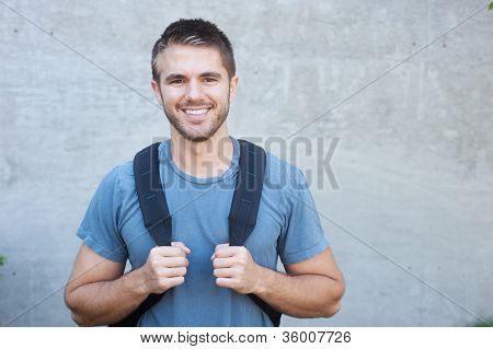 Portrait Of A College Student
