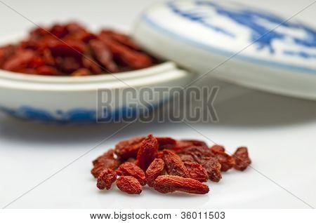 Goji-berries, Lycium Barbarum